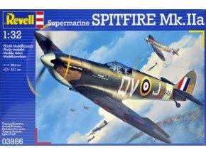 Revell letadlo Supermarine Spitfire Mk II 1:32 03986