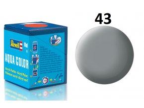Revell barva akrylová - 36143: matná šedá (grey mat USAF w.)