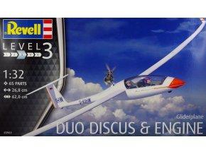 Revell letadlo Gliderplane Duo Discus & Engine 1:32 03961