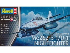 Revell letadlo Messerschmitt Me262 B-1/U-1 Nightfighter 1:32 04995