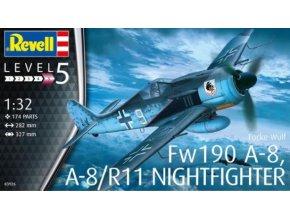 Revell letadlo Fw 190A-8, A-8/R11 Nightfighter 1:32 03926