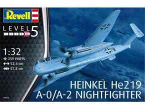 Revell letadlo Heinkel He219 A-0/A-2 Nightfighter 1:32 03928