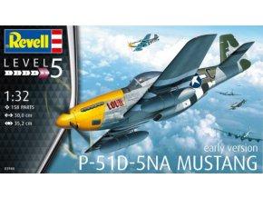 Revell letadlo P-51D-5NA Mustang 1:32 03944