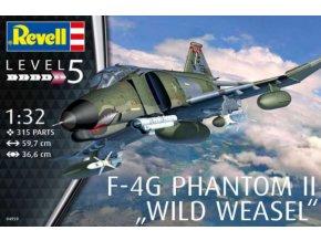 Revell letadlo F-4G Phantom II Wild Weasel 1:32 04959