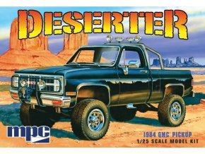 MPC GMC Pickup 1984 Deserter 1:25 MPC847