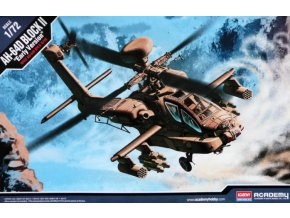 Academy vrtulník AH-64D BLOCK II Early Version 1:72 12514