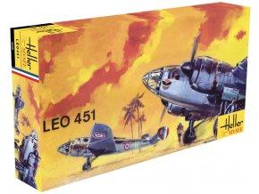 Heller letadlo LEO 451 1:72 80389