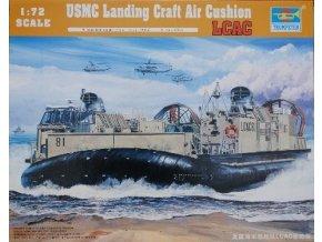 Trumpeter vznášedlo USMC Landing Craft Air Cushion LCAC 1:72 07302