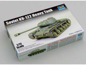 Trumpeter tank Soviet KV-122 Heavy Tank 1:72 07128