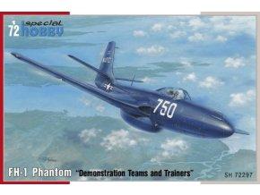 Special Hobby letadlo FH-1 Phantom Demonstration Teams and Trainers 1:72 72297