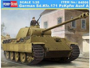 Hobby Boss tank German Sd.Kfz.171 PzKpfw Ausf A 1:35 84506