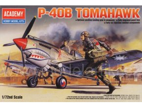 Academy P-40B Tomahawk 1:72 12456