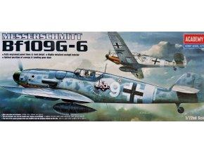 Academy letadlo Messerschmitt Bf 109G-6 1:72 12467