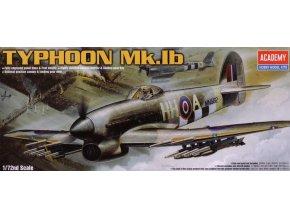 Academy letadlo Hawker Typhoon Mk.Ib 1:72 12462