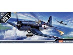 Academy letadlo F4U-1 Corsair 1:72 12457