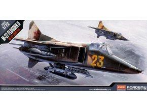 Academy letadlo MIG-27 Flogger-D 1:72 12455