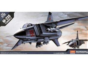 Academy letadlo MiG-23S Flogger B 1:72 12445