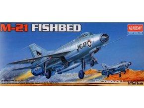 Academy letadlo MiG-21 Fishbed 1:72 12442