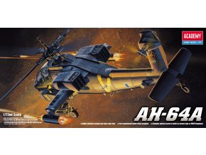 Academy vrtulník AH-64A Apache 1:72 12488