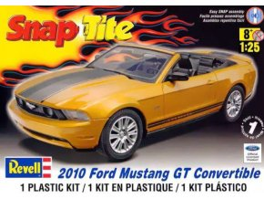 Revell Ford Mustang GT Convertible 2010 Easy Snap 1:25 85-1963