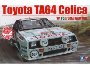 Aoshima Toyota Celica TA64 88 Portugal Rally 1:24 103142