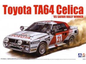 Aoshima Toyota Celica TA64 85 Safari Rally Winner 1:24 84564
