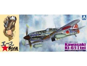 Aoshima Kawasaki KI-61-I tei TONY Army Fighter 1:72 22887