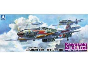 Aoshima Kawasaki KI-61-I tei 1:72 23426