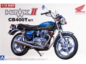 Aoshima Honda CB 400T 1977 1:12 53324
