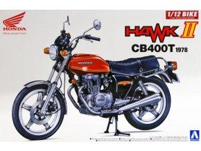 Aoshima Honda CB 400T Hawk II 1978 1:12 53966