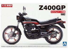 Aoshima Kawasaki Z 400 GP 1982 1:12 54567