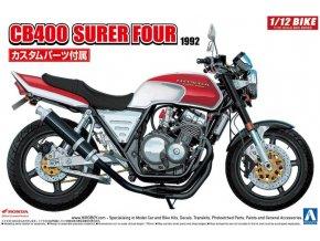 Aoshima Honda CB 400 Super Four 1992 1:12 55144
