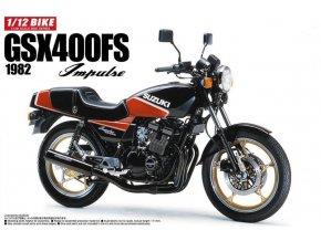 Aoshima Suzuki GSX400FS Impulse 1982 1:12 53959