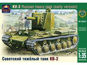 ARK Models KV-2 Russian heavy tank 1:35 35022