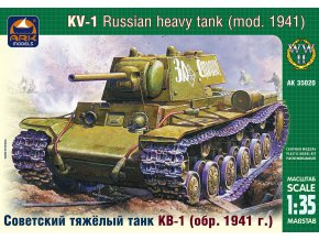 ARK Models KV-1 Russian heavy tank, model 1941 1:35 35020