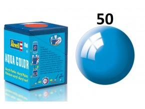Revell barva akrylová - 36150: lesklá světle modrá (light blue gloss)