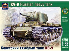 ARK Models KV-9 Russian heavy tank 1:35 35021