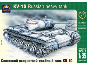 ARK Models KV-1S Russian high-speed heavy tank 1:35 35023
