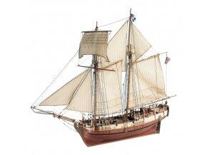 Artesania Latina dřevěný model plachetnice Goleta Independence 1:35 22414