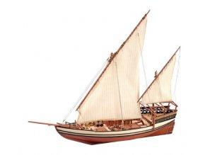 Artesania Latina dřevěný model plachetnice Arab Dhow Sultan 1:85 22165