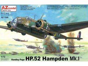 AZ model Handley Page HP.52 Hampden Mk.I 1:72 AZ 7548