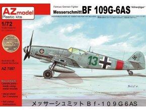 AZ model Bf 109G-6AS Hohenjager 1:72 AZ 7507