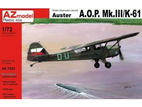 AZ model AUSTER AOP.MK.III/K-61 1:72 AZ 7523