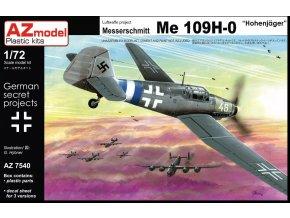 AZ model Messerschmitt Me 109H-0 Höhenjäger 1:72 AZ 7540