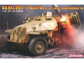 Dragon Sd.Kfz.251/1 Ausf.D with 28/32cm Wurfrahmen 40 1:35 6861