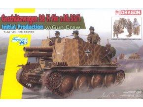 Dragon Sd.Kfz.138/1 Geschutzwagen 38 H fur s.IG.33/1 Initial Production 1:35 6857