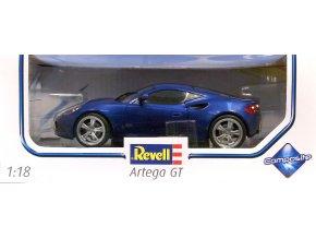 Revell Artega GT Metallic Blue kovový mode 1:18 09025