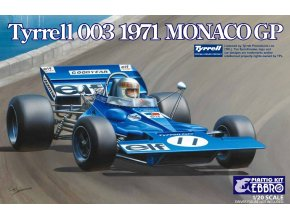 EBBRO Tyrrell 003 1970 Monaco GP 1:20 007- 5800