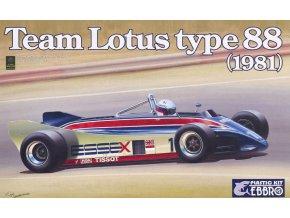 EBBRO Team Lotus Type 88 1981 Essex 1:20 011-6800