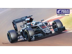 EBBRO Spanish G.P. McLaren Honda MP4-31 2016 1:20 018-4800